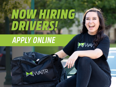 We're hiring delivery drivers!